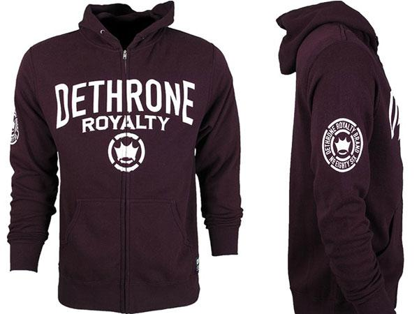 Dethrone Dethrone Anticrown Hoodie (Blackberry)